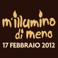 Logo M'Illumino di meno 2012