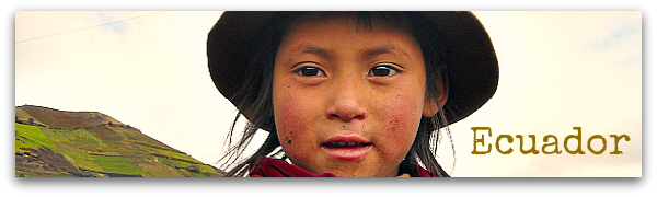 Ecuador fotografie Ande e Amazzonia