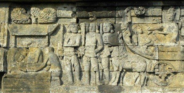 Borobudur bassorilievi