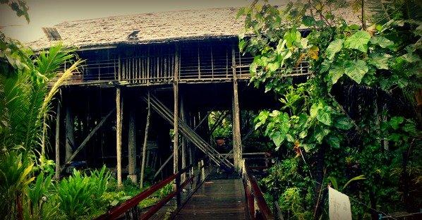 Sungai Uluk Palin longhouse