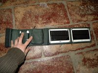 pannello solare da viaggio