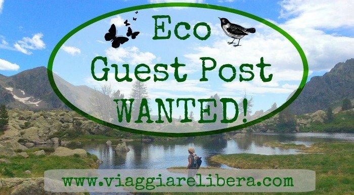 Eco guest post turismo sostenibile