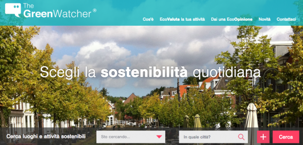 TheGreenWatcher website