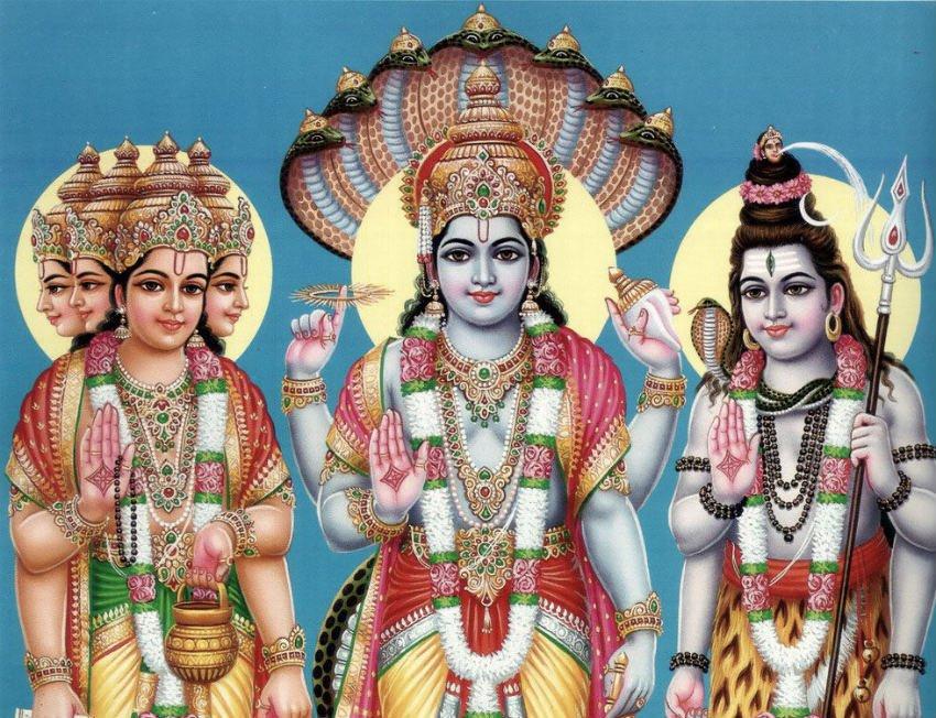 Induismo Concetti base - la Trimurti