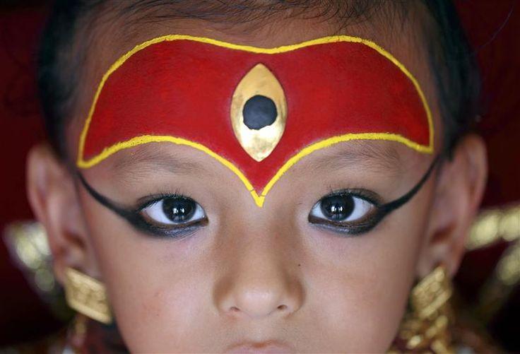 occhio di fuoco- Kumari-Nepal