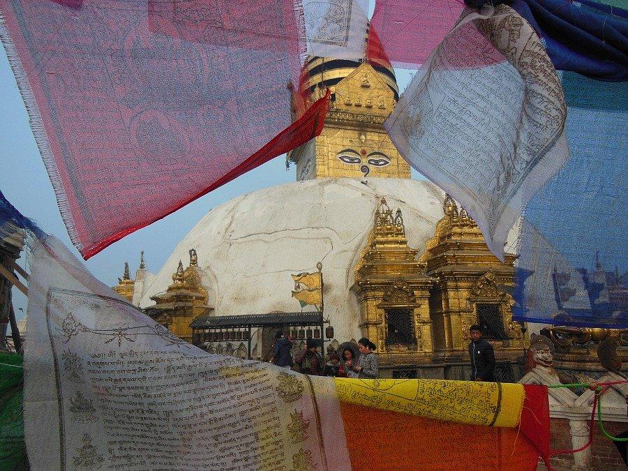 Kathmandu, Tempio di Swayambhunath