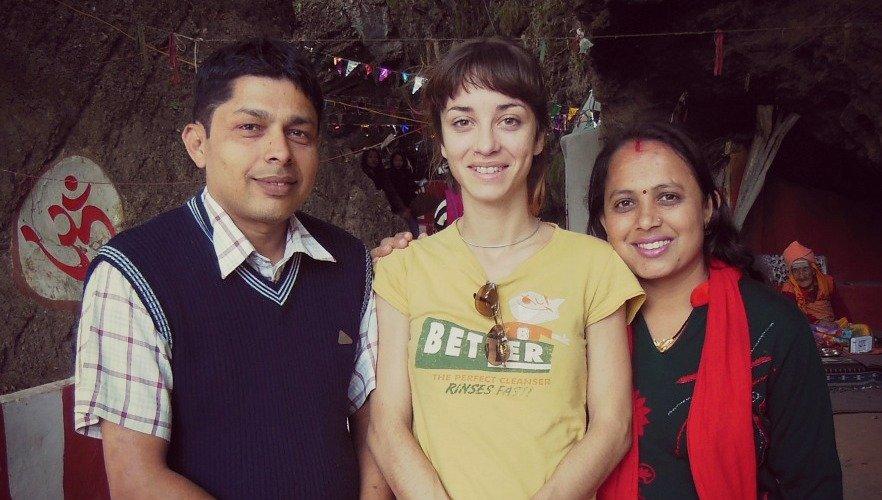 Birendra, Anita and me