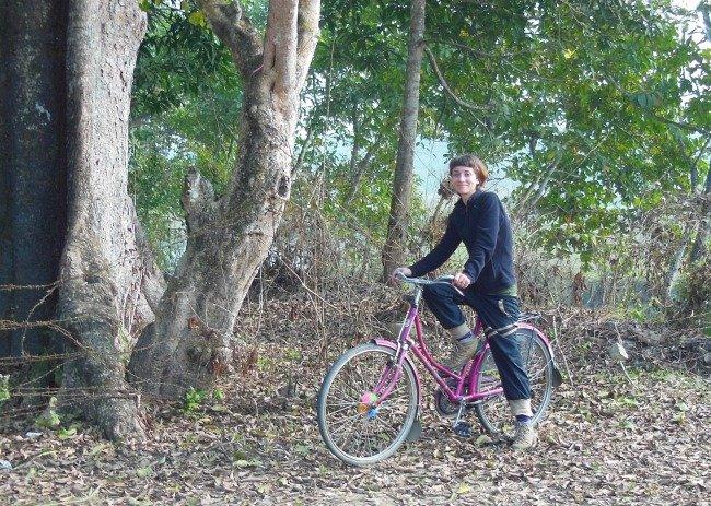io in bici Nepal