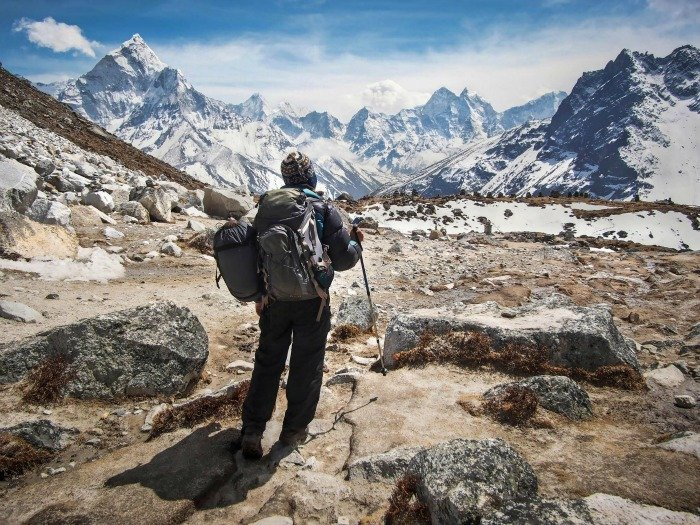 Nepal dopo il terremoto - Everest