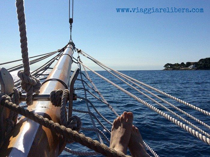 Viaggiare in barca a vela