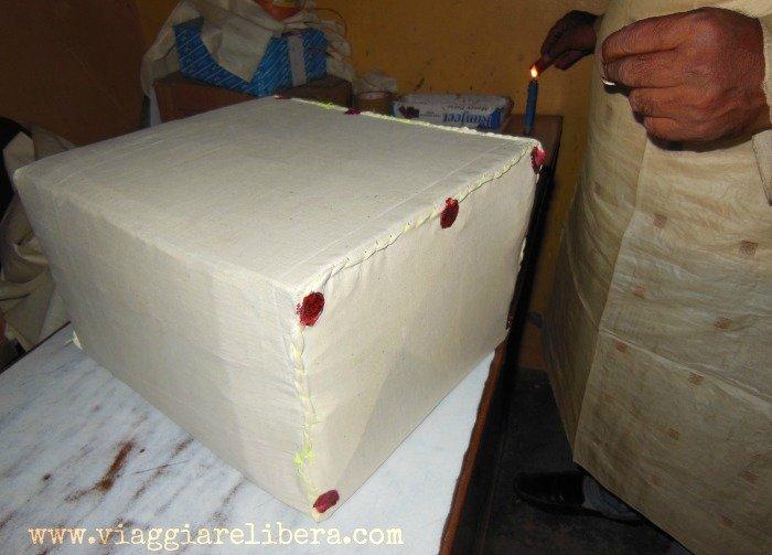 Spedizione pacco dall'India