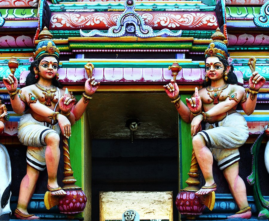 Tempio Indu - Tamil Nadu India
