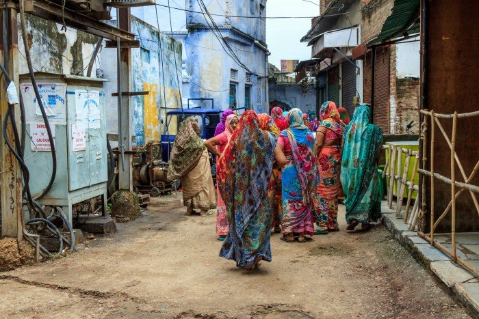 Donne in India