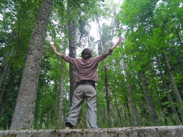 Io abbraccio la natura