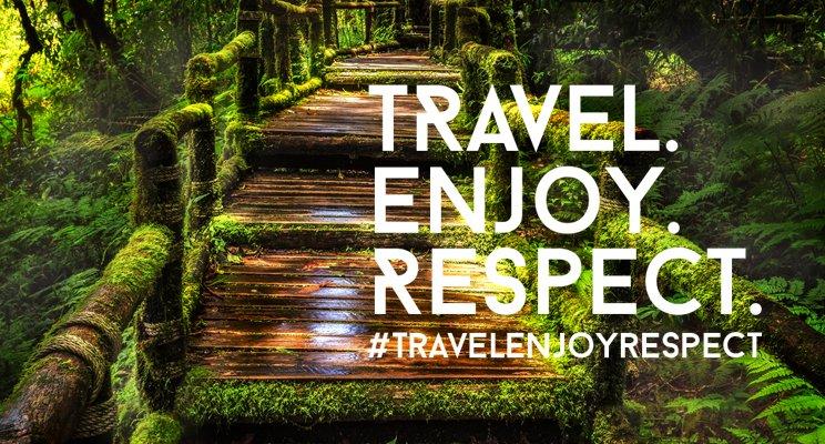Travel, Enjoy Respect
