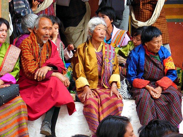 Viaggio in Bhutan - popolazione