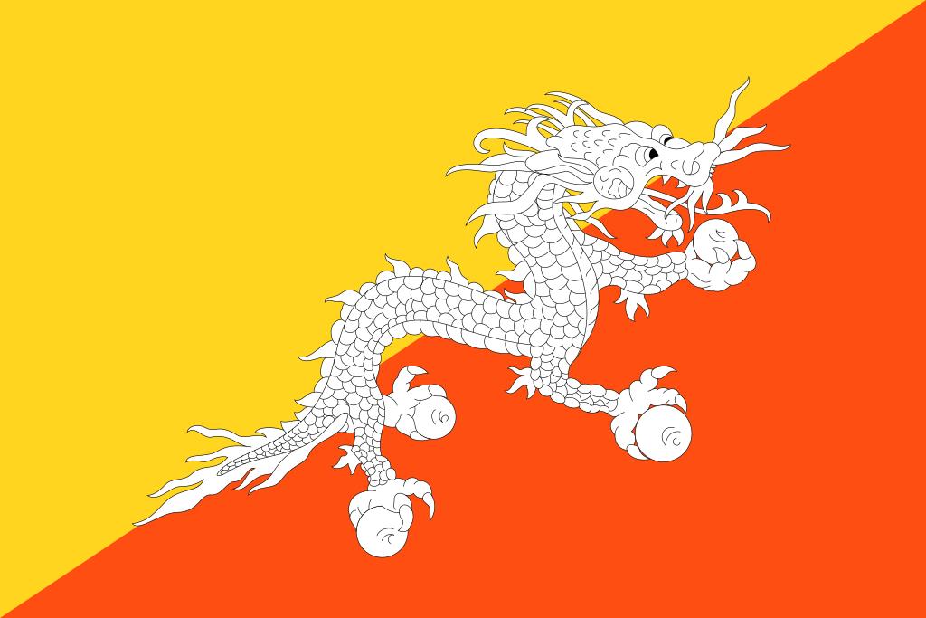 Bandeira del Bhutan