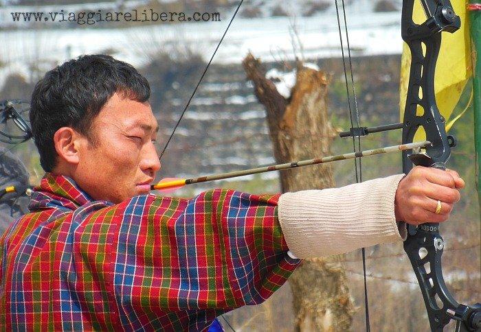 Tiro con l'arco Bhutan sport nazionale