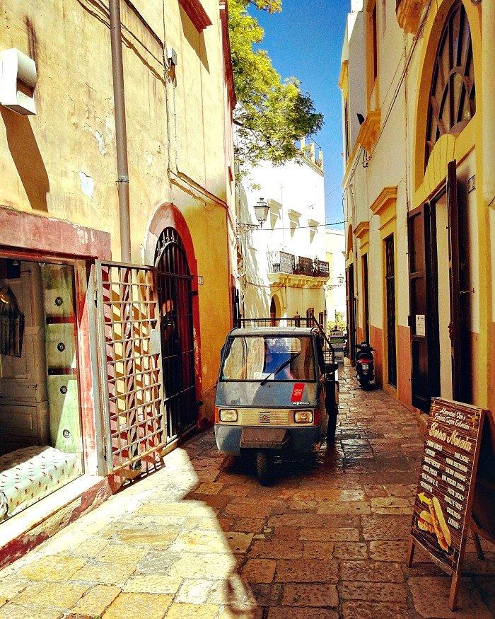 Vicoli centro storico Gallipoli