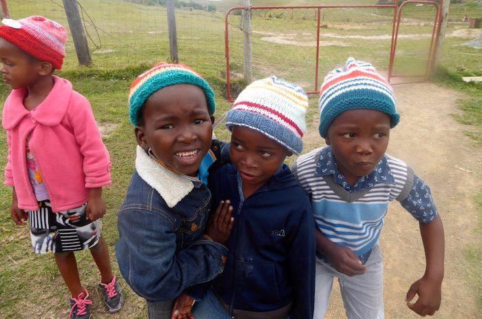 Bambini Villaggio Bulungula Suafrica