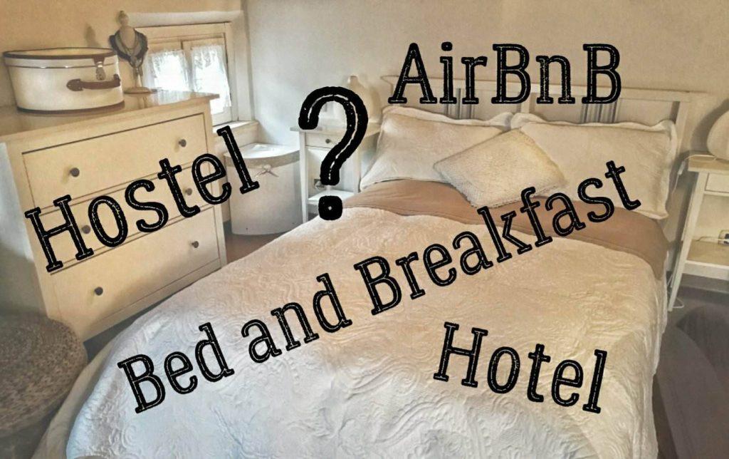 Dove dormire in viaggio