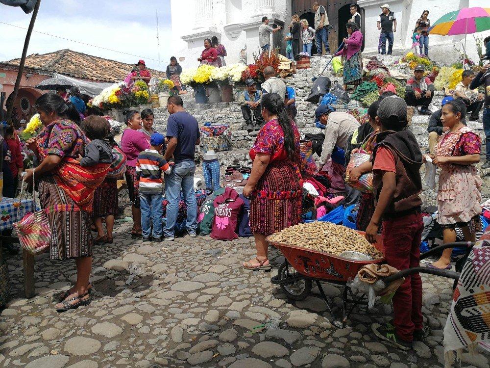mercato arachidi Guatemala-min