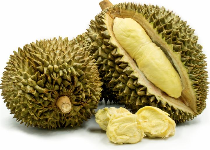 Frutto del Durian e polpa