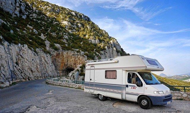 In camper in Sardegna
