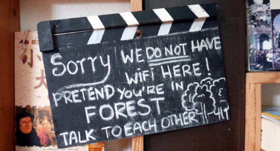 Non c'è il wifi