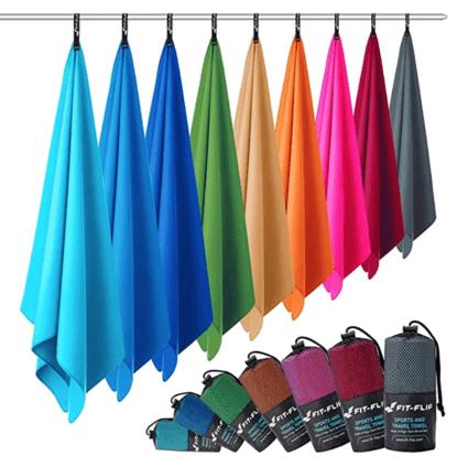 Asciugamani da viaggio in microfibra