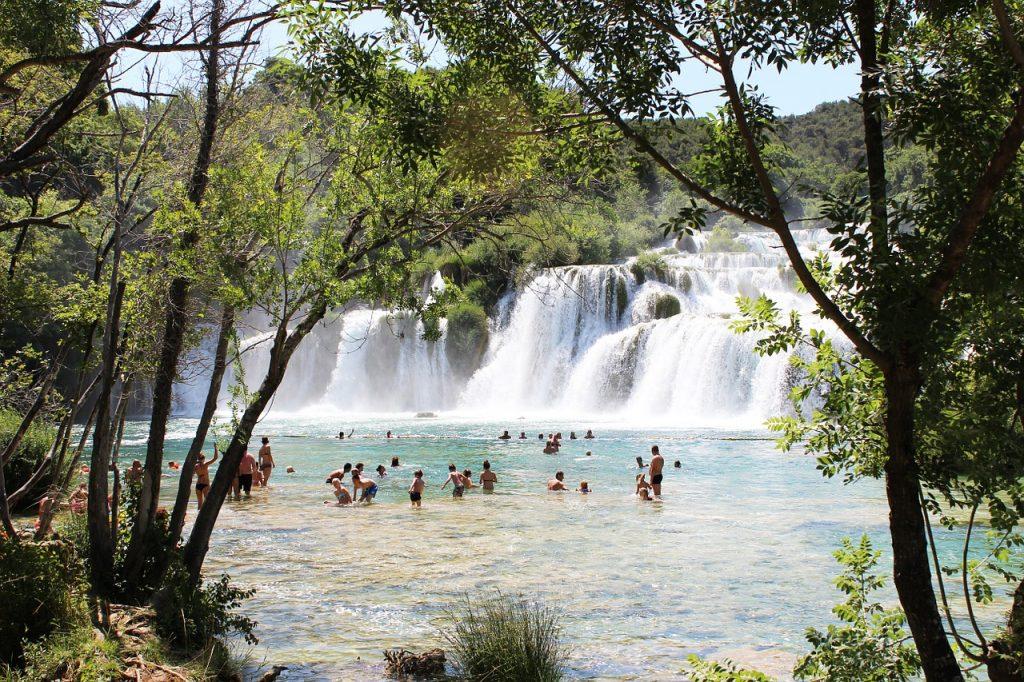 krka cascate Croazia