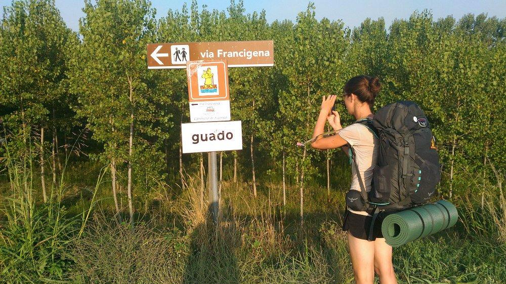 indicazioni Via Francigena