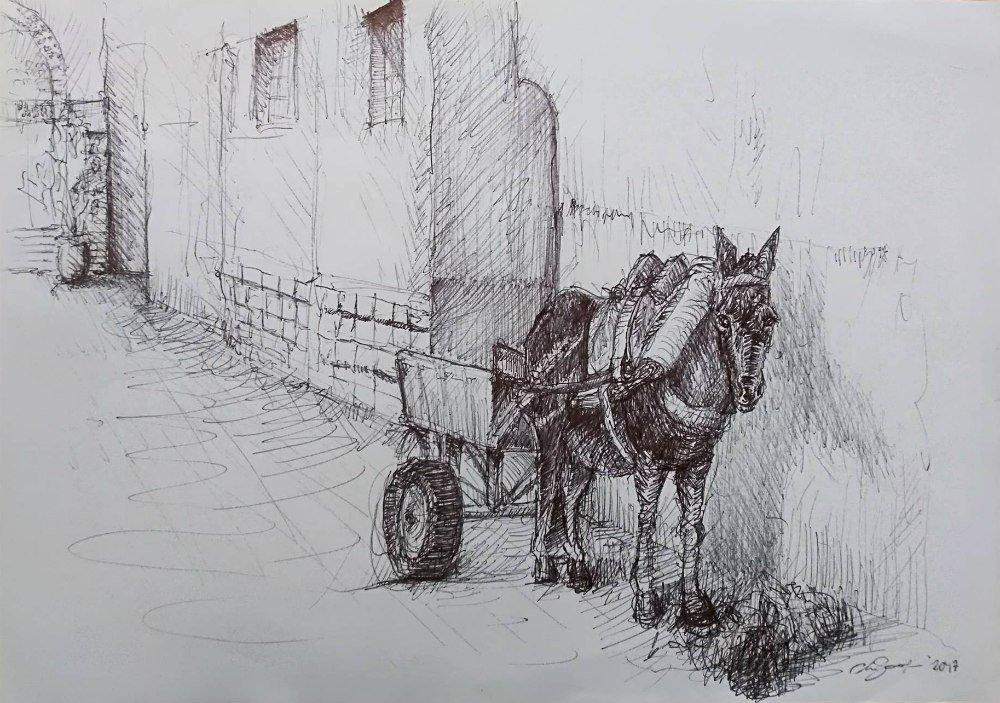 Disegno di Claudio Scarapazzi