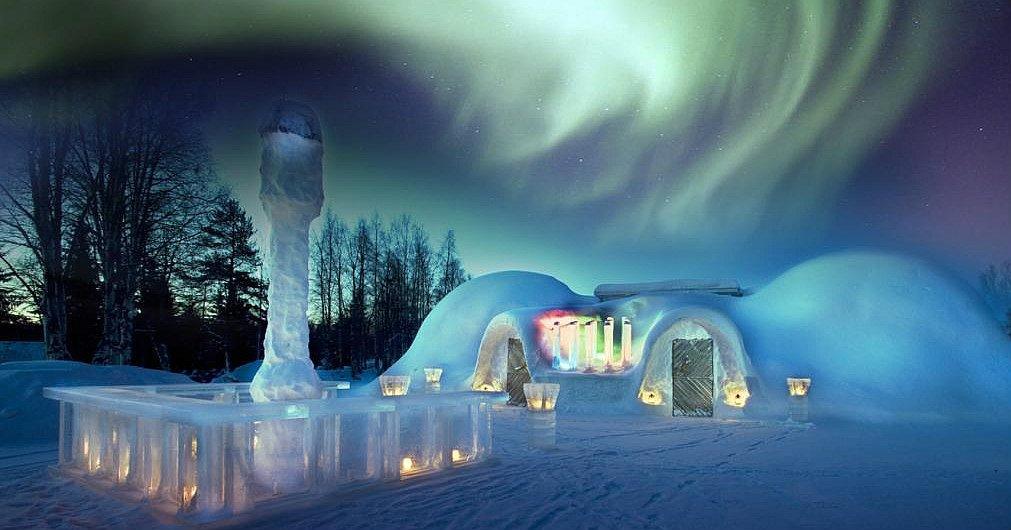 Artic Snow Hotel Lapponia