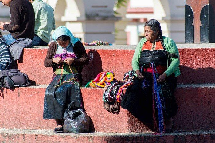 Donne maya Messico