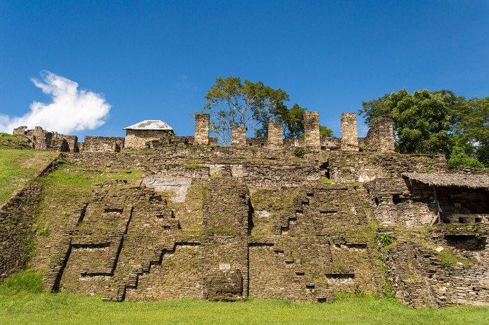 Toninà - Chiapas, Messico