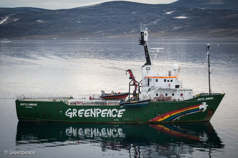 Nave Greenpeace