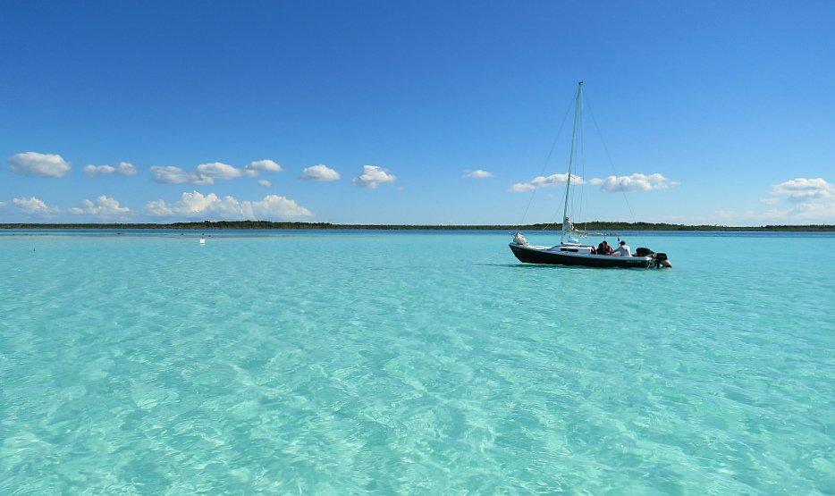Lagune di Bakalar - Laguna dei 7 colori