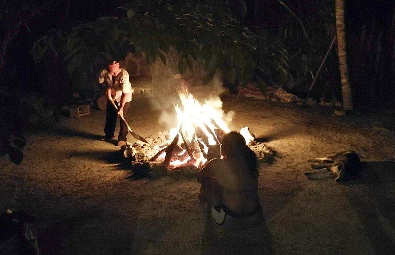 Fuoco sacro Maya