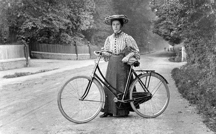 Annie Londonderry bicicletta