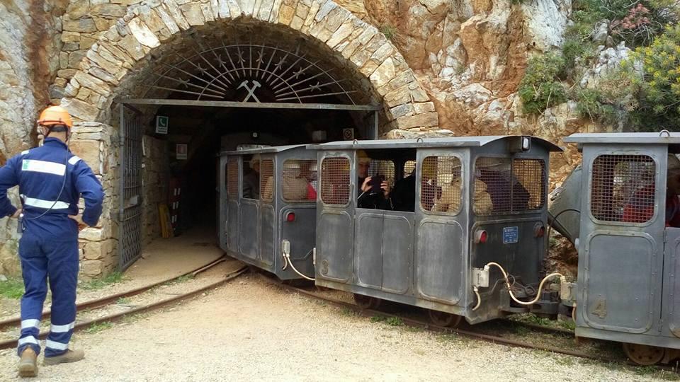 Trenino miniera Sulcis