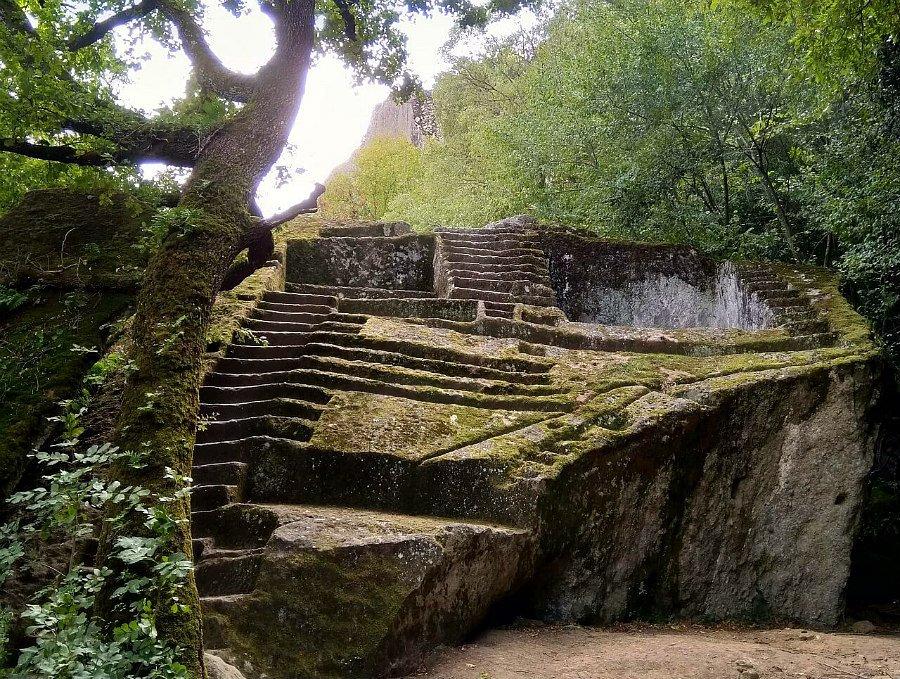 Piramide Etrusca di Bomarzo