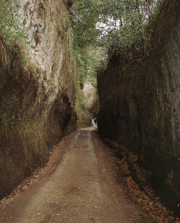 Via Cava o Tagliata Etrusca