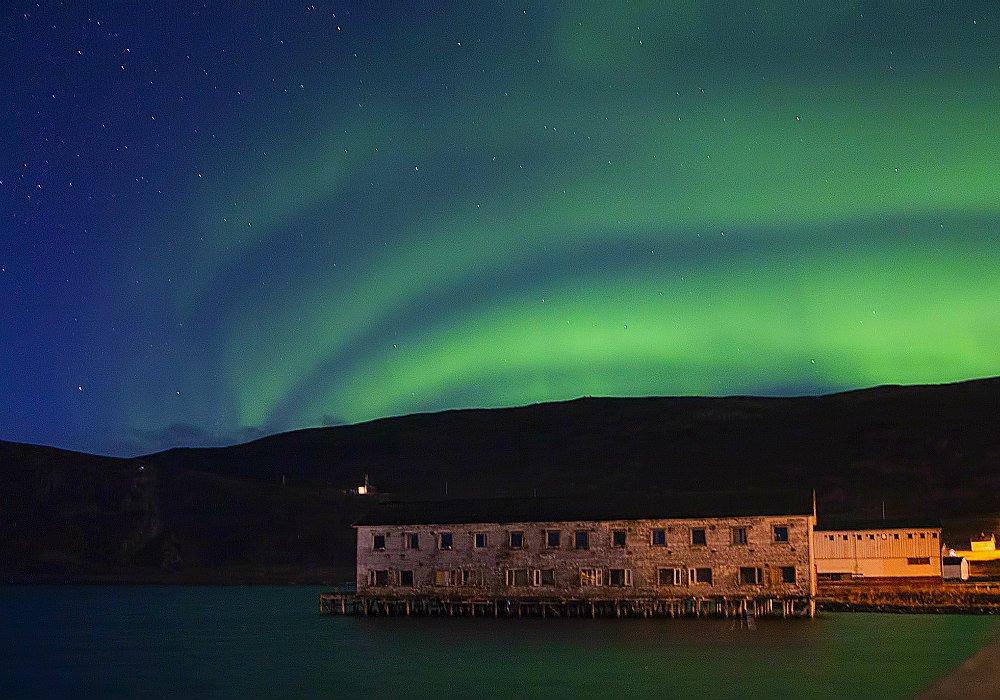Aurora Boreale Kongsfjord