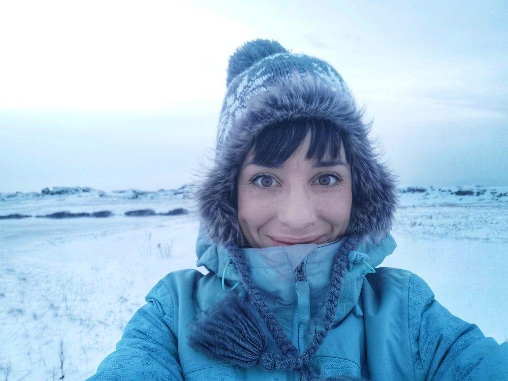 Valentina Miozzo al Circolo Polare Artico