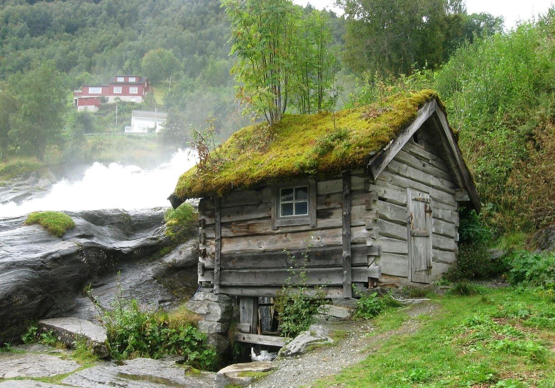 Cascate Hellesylt mulino - Norvegia