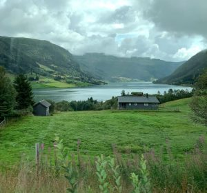 Panorama fiordi Norvegia