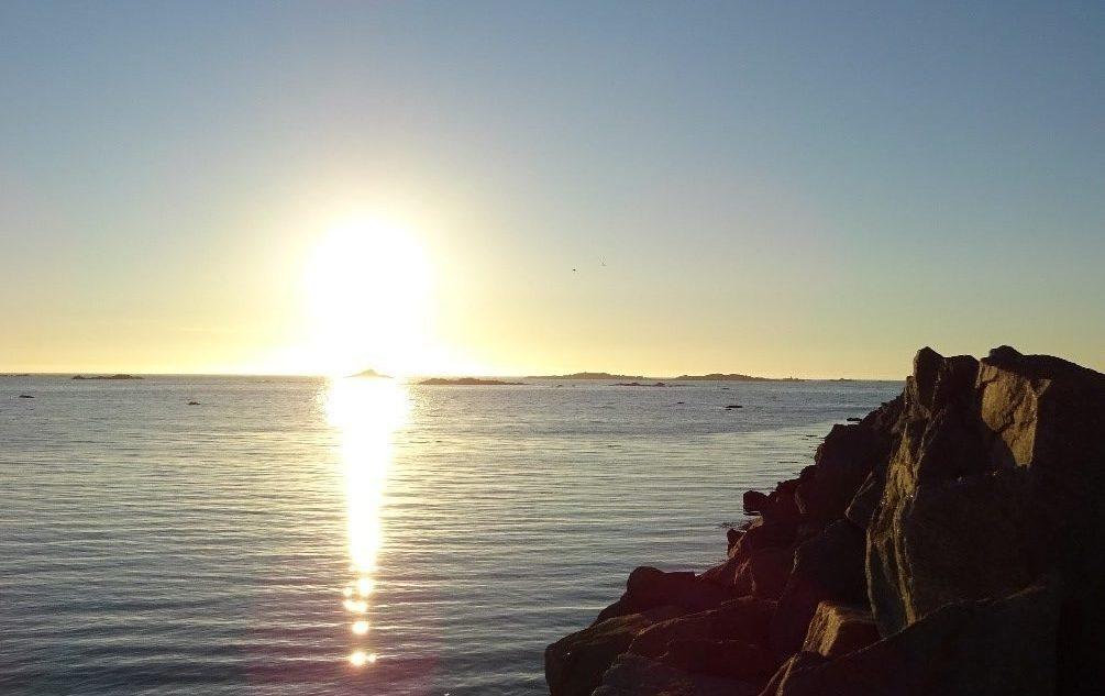 Sole di mezzanotte Lofoten