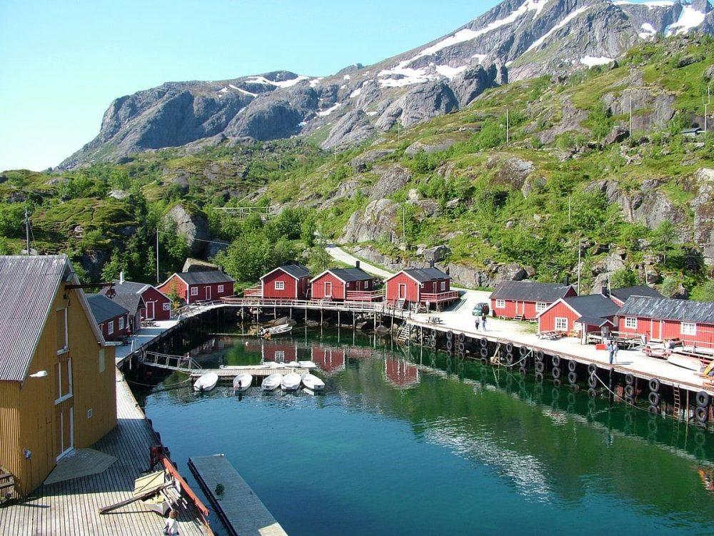 Villaggio di Nusfjord - Lofoten