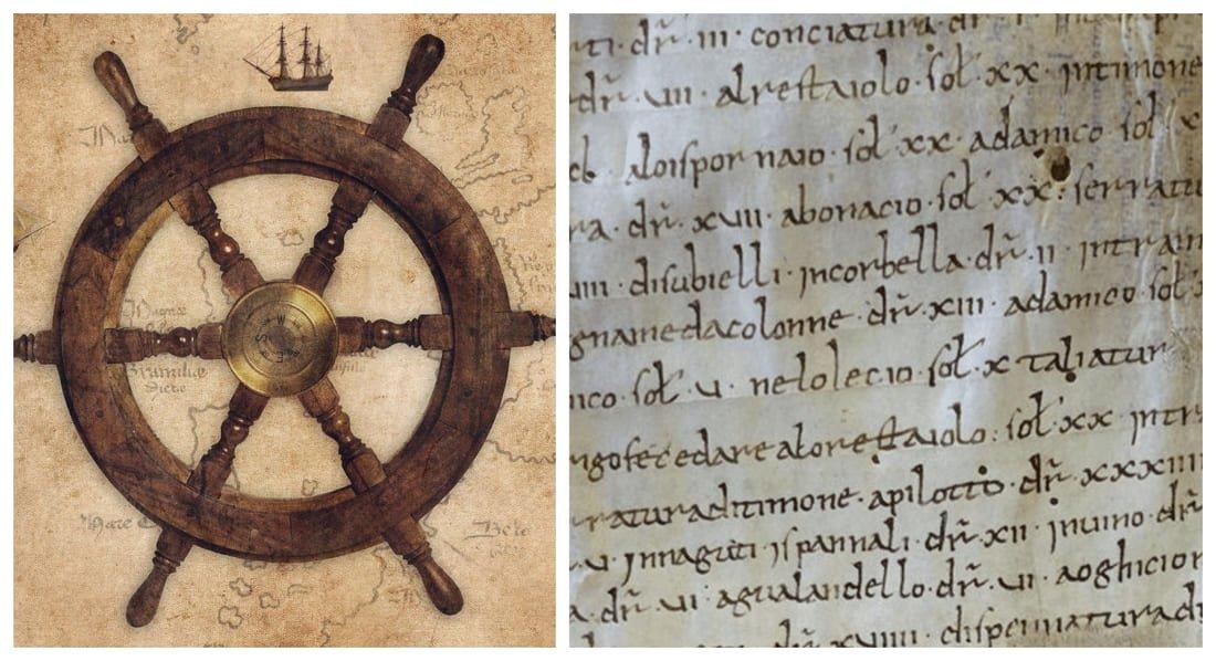 Carta navale pisana